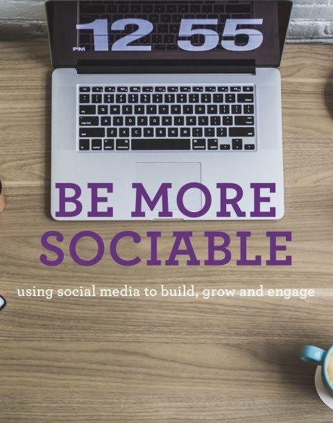 Be more sociable thumbnail