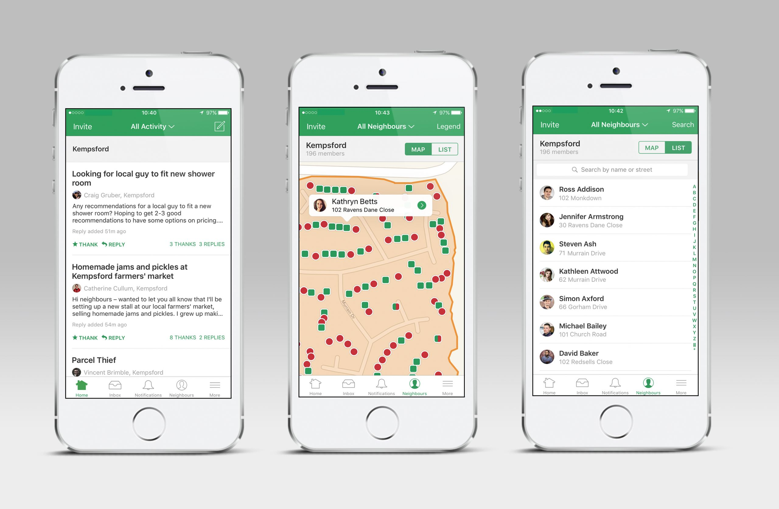 Giant Peach_ Nextdoor App